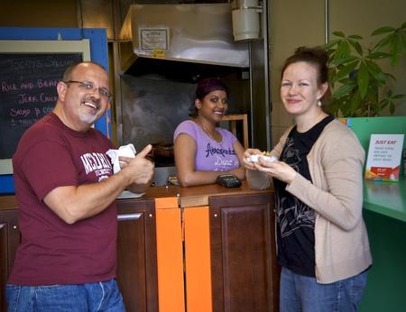 Mary/Leigh/ Lorenza at Caribbean Cuisine